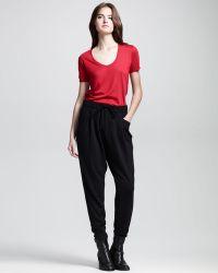 Helmut - Drawstring Sweatshirt Easy Trousers - Lyst