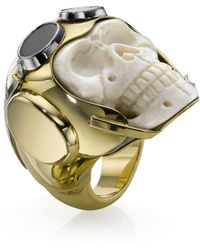 Theo Fennell - Lost Flyer Skull Ring - Lyst