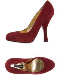 Dolce & Gabbana Closedtoe Slipons - Lyst