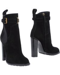 DSquared² Block High-Heel Ankle Boots - Lyst