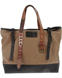 DSquared² Large Fabric Bag - Brown