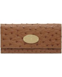 Mulberry Continental Wallet - Lyst