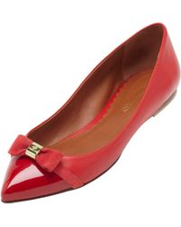 Mulberry Bow Ballerina - Red