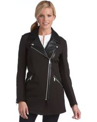 BCBGeneration Biker Trench Coat