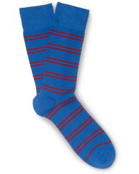 Club Monaco Double-striped Socks - Lyst