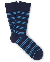 Club Monaco - Double-striped Socks - Lyst