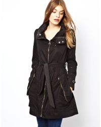 G-Star RAW Trench Coat - Black