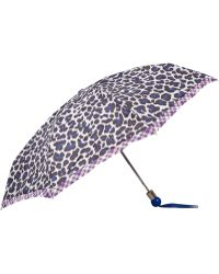 Marc By Marc Jacobs - Purple Leonora Leopard Print Umbrella - Lyst