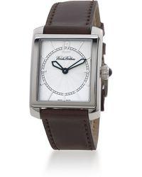 Brooks Brothers - Ladies' Square Cordovan Watch - Lyst