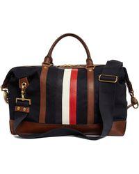 Brooks Brothers Mackintosh Soccer Bag - Blue