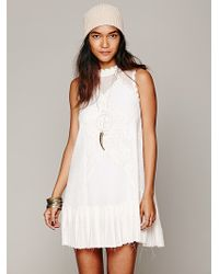 Free People Fp One Angel Lace Dress - White