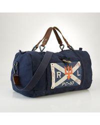 Polo Ralph Lauren Sailing Duffel Bag - Blue