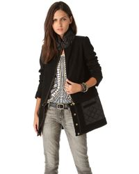 Sass & Bide - The Whistle Blower Quilted Coat - Lyst