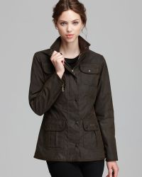 Barbour Jacket - Utility Lightweight Waxed Cotton - Lyst