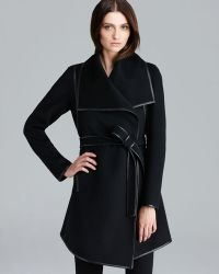 Dawn Levy Harper Belted Wrap Coat - Lyst