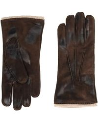 Orciani Gloves - Brown