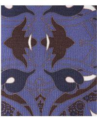 Tory Burch Flavia Printed Silkjersey Dress - Blue