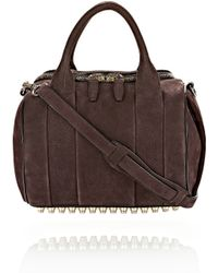 Alexander Wang Rockie in Tumbled Raisin with Pale Gold - Lyst