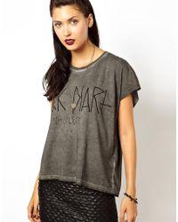 ELEVEN PARIS Diary Tshirt - Black