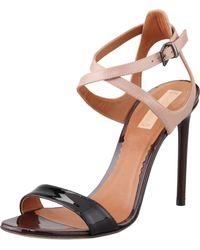 Reed Krakoff - Tricolor Ankle Harness Sandal Blacknude - Lyst
