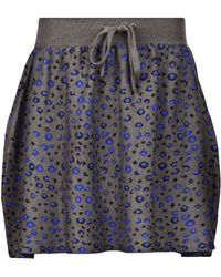 Timo Weiland - Leopard Print Skirt - Lyst
