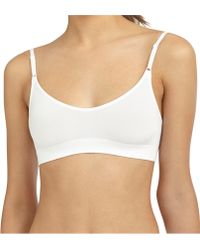Brooks Brothers Wacoal Seamless Bralette white - Lyst