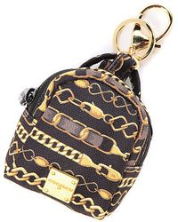 Sprayground The 9 Chainz Mini Pouch Keychain - Metallic