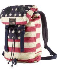 Denim & Supply Ralph Lauren - American Flag Canvas Backpack - Lyst