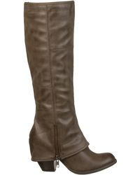 Fergie - Fergalicious Shoes Lryder Tall Boots - Lyst