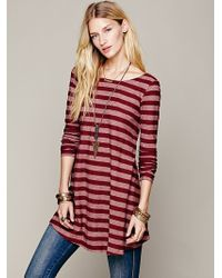 Free People Movie Date Tunic - Lyst