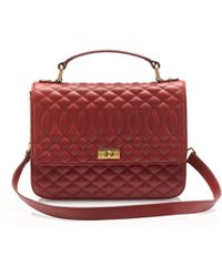 J.Crew Quilted Edie Purse - Red
