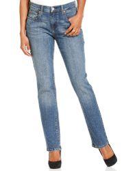 Levi's 505 Straight-leg Jeans Studio Blue Wash - Lyst