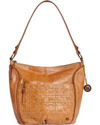 The Sak Iris Leather Large Hobo Bag - Lyst
