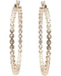 Asha - Vermeil Earrings - Lyst