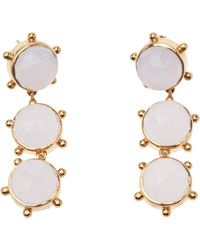 Asha - Triple Drop Earrings - Lyst