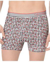 Calvin Klein One Micro Slim Fit Knit Boxer - Lyst
