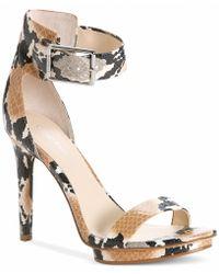 Calvin Klein Vivian High Heel Sandals - Lyst