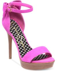 Jessica Simpson Bowie Platform Dress Sandals - Lyst