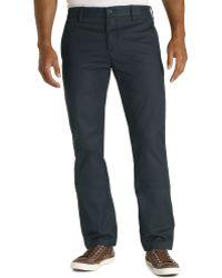 Levi's 513 Welt Trouser Slim Leg Pants in Navy Courage - Lyst