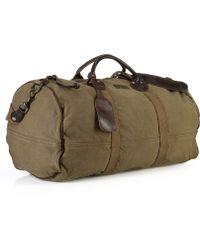 Ralph Lauren Canvas Bedford Duffle Bag - Natural