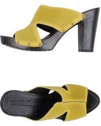 Vicini Tapeet Platform Sandals - Lyst