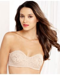 Wacoal Halo Lace Convertible Strapless Bra - Lyst