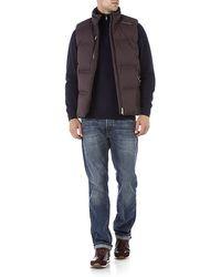 Hackett Half Zip Wool Sweater - Blue