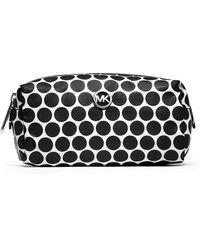 MICHAEL Michael Kors Kiki Nylon Medium Cosmetic Bag - Lyst