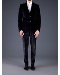 Moschino - Velvet Sparkle Suit - Lyst