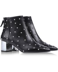 Moschino Cheap & Chic Ankle Boots - Lyst