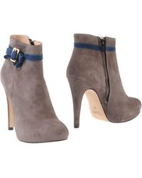 Noa Ankle Boots - Gray