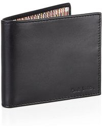 Paul Smith Multi Stripe Billfold Wallet - Lyst