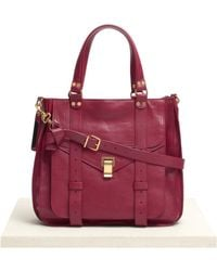 Proenza Schouler Ps1 Leather Tote - Lyst