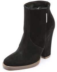 Theyskens' Theory - Alito Suede Booties - Lyst